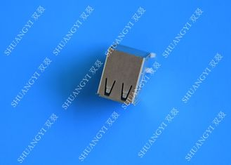 चीन DIP Foot 4 Pin AF Type Double USB Charging Connector Female For PCB आपूर्तिकर्ता