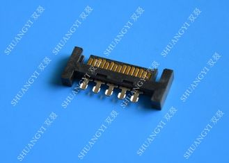 PCB Slimline SATA Connector Voltage 125V AC Small Footprint Design